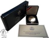 United States: 2002 $1 Salt Lake City Winter Olympic Proof Silver Dollar