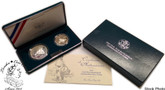 United States: 1995 Civil War 2 Proof Coin Set