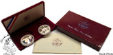 United States: 1983 1984 Los Angeles Summer Olympic Games 2 Proof Coin Set