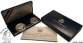 United States: 1994 World Cup USA 2 Proof Coin Set
