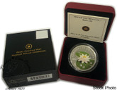 Canada: 2010 $20 Water Lily Silver Coin