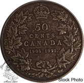 Canada: 1998 50 Cents Commemorative 1908 - 1998 Antique Coin