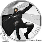 Canada: 2016 $10 Batman vs Superman - Batman Silver Coin