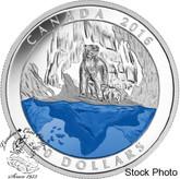 Canada: 2016 $20 Iconic Canada: The Polar Bear Silver Coin