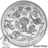 Canada: 2016 $200 Vast Prairies Silver Coin