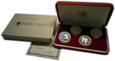 South Korea: 1988 Seoul Olympic Games 4 Proof Silver Coin Set