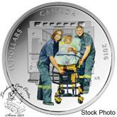 Canada: 2016 $15 National Heroes - Paramedics Silver Coin
