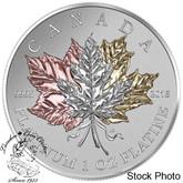 Canada: 2016 $300 Maple Leaf Forever Platinum Coin