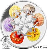 Canada: 2014 $20 75th Anniversary of The Royal Winnipeg Ballet Silver Coin*MUSIC BOX NOT WORKING/DEAD BATTERY*