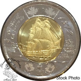 Canada: 2012 $2 HMS Shannon (War of 1812) Coin BU