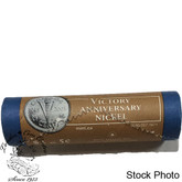 Canada: 2005 P 5 Cent Victory Anniversary Original Roll - Special Wrap (40 Coins)