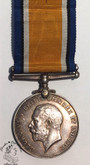 British War Medal 1914-20 - DVR. C.H. HAYES. R.A.