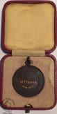 Royal Life Saving Society 1935 Medal -  M.P. HOOVER.