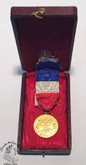France: Honour Medal For Work 1963 - MME. M.DAVOT. with case.