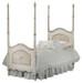 Cherubini Bed Bed Size: Twin Finish: Versailles Crème