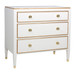 Gramercy Chest Body Finish:Linen Upgraded Trim Out: Gold Gilding Toe Caps: Polish Brass Knobs: Brass VI