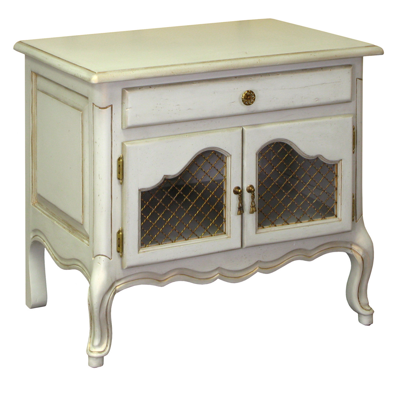 Country French Night Table Afk Furniture
