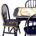 Vintage Play Table and Chair Set: Nautical Antique Map Detail