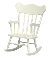 Child's Rocking Chair: Antico White