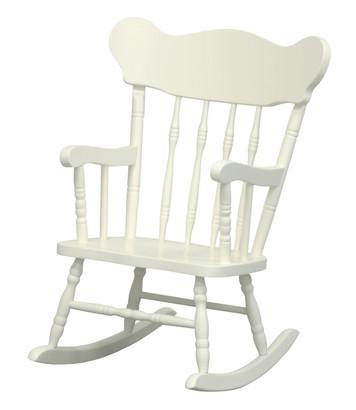Child's Rocking Chair: Antico White