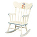 Child's Rocking Chair: Classic Enchanted Forest