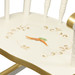 Child's Rocking Chair: Classic Enchanted Forest Detail