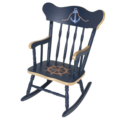 Childu0027s Rocking Chair: Nautical