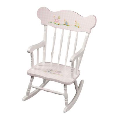 Child's Rocking Chair: Nursery Animals
