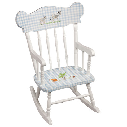 Child's Rocking Chair: Safari