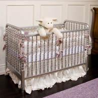 Jenny Lind Crib Finish: Metallic Silver