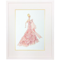 Barbie Couture: Pink Evening Dress