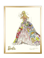 Limited Generation of Dreams Barbie in Gold Frame