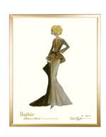 Limited Capucine Barbie in Gold Frame