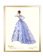 Limited Provencale Barbie in Gold Frame