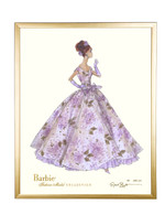Limited Violette Barbie in Gold Frame