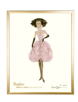 Barbie Limited: Blush / Gold Frame