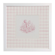 Toile - Child Playing with Bunny