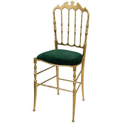 Genial Solid Brass Chiavari Chair