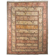 Noah's Ark Turkish Silk Rug