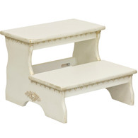 Two-Step Stool: Versailles Crème