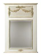 Trumeau Mirror: Versailles Crème