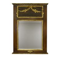 Trumeau Mirror: Chateau / Gold Gilding