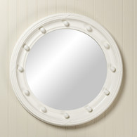 Federal Mirror: Antico White