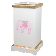 Deluxe Hamper: Elephant / Antico White / Gold Gilding