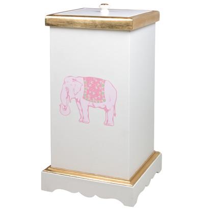Deluxe Hamper: Elephant / Antico White / Gold Gilding