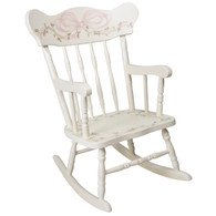 CHILD'S ROCKING CHAIR Ribbons & Roses