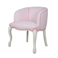 PRINCESS CHAIR Chestion Pink & White