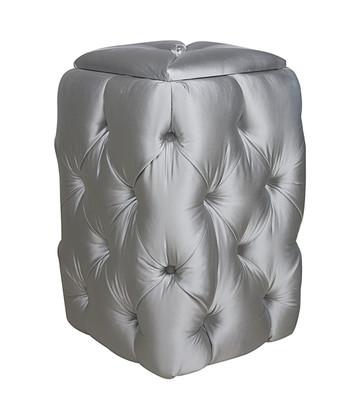 DELUXE HAMPER Tufted / Whisper Silver