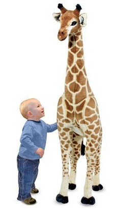 GIRAFFE 4' Tall with Child