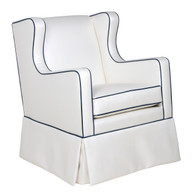Gramercy Glider Fabric: Custom - Customer Own Material Glider Mechanism: Glider - Front Back Movement